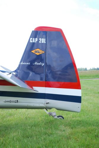 Mudry CAP 20 F-AZVR 0037