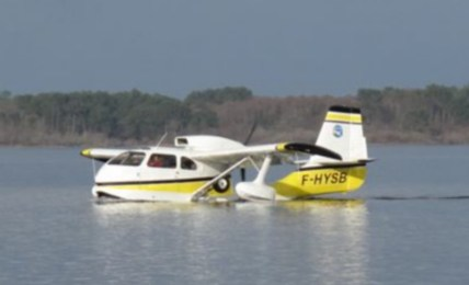 Republic RC-3 Seabee F-HYSB (Photo Aquitaine Hydravions)