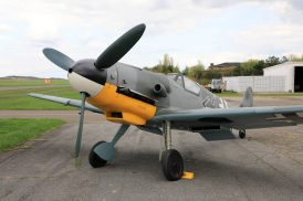 Bf 109G-14 WNr 462707 D-FMGV (Photo © Richard Paver)