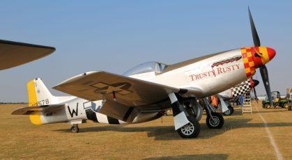 P-51D-30 Mustang 44-74923 (Photo © Peter Arnold)