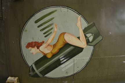 Nose art du B-25 Mitchell de la BAPA (Photo © BAPA)