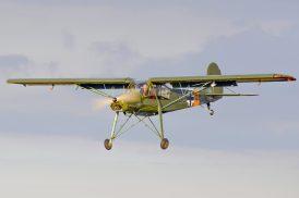 MS.500 Criquet ( Fieseler Fi-156 Storch ) F-AZRA ( Photo © Jean-Pierre Touzeau )