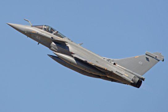 Dassault Rafale M44 ( Photo © Alan Wilson sous licence CC-BY-SA-2.0 )