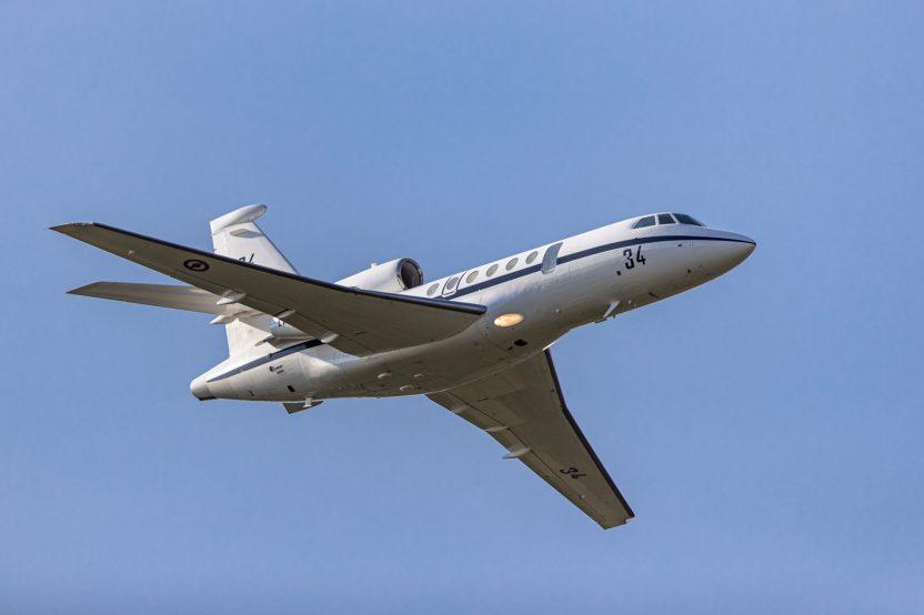 Dassault Falcon 50 Marine 34 ( Photo © Damien Defever )