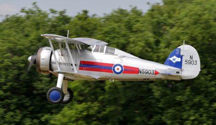 Le Gloster Gladiator N5903/G-GLAD (Photo © Benjamin-Gilbert)