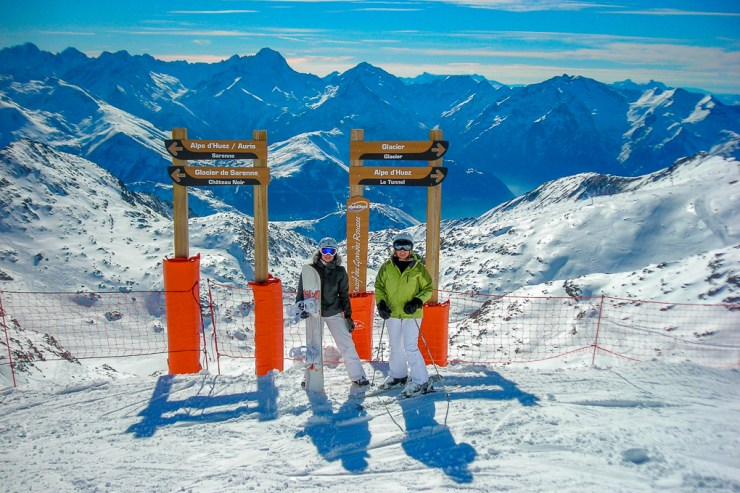 Cheap Ski Holiday Alpe d'Huez Sarenne