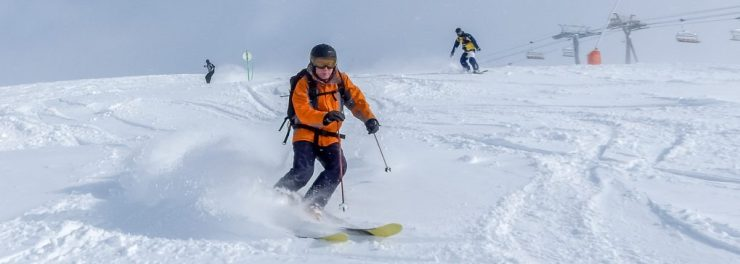 cheap ski holiday alpe d'huez powder