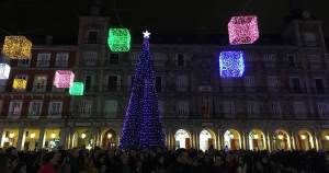 fêtes de fin d'année à Madrid