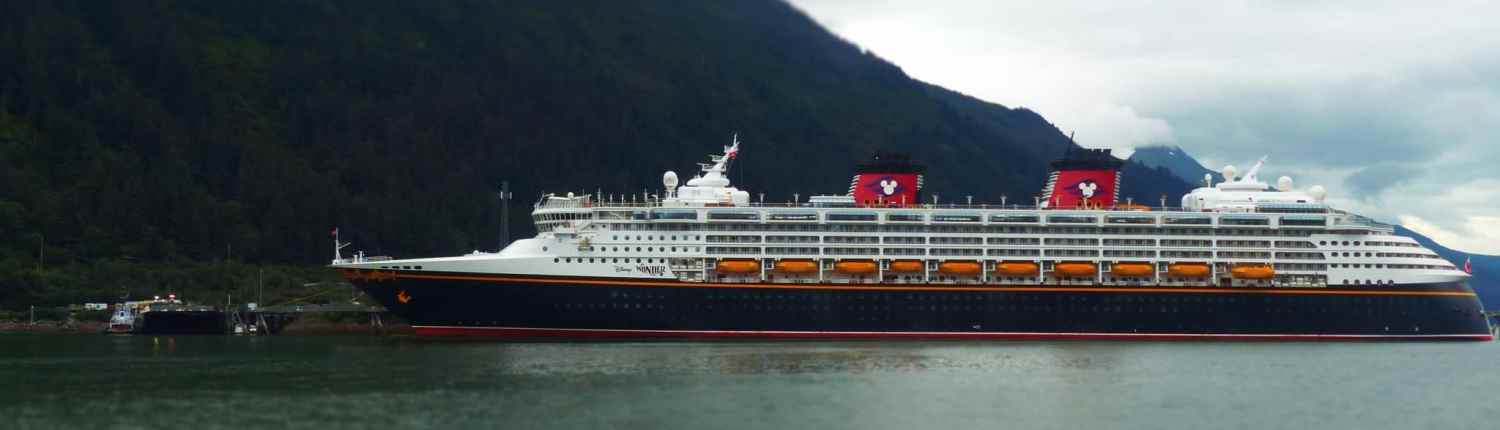 Le Disney Wonder, second navire de la Disney Cruise Line