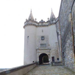 Un château tout droit sorti d'un conte de fées...