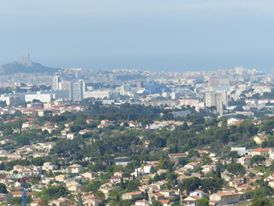 Prestigieuse récompense : ce sublime panorama marseillais vu des collines ...