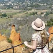 Sublimes panorama au Petit Colorado Provençal, Rustrel.