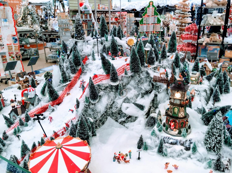 Le village de Noël made in U.S.A.