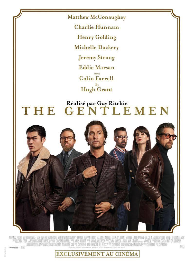 Les P'tits Ronrons font un tour au cinéma cette semaine avec The Gentlemen !