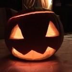 La citrouille décorée : un incontournable d'Halloween.