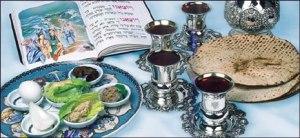 préparatifs du seder de pessa'h