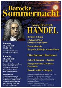 Barocke Sommernacht 12./13. Juli 2014