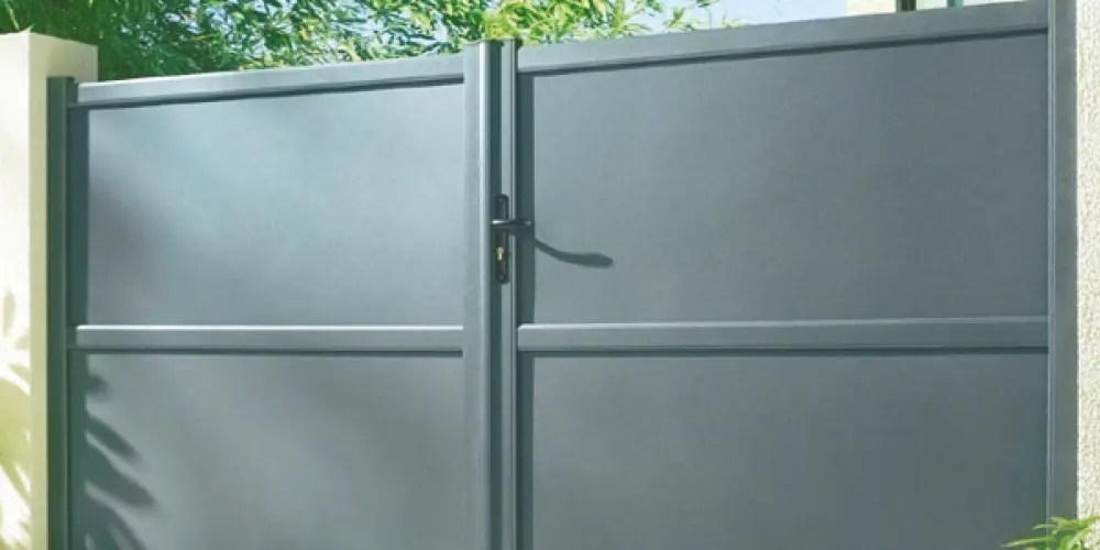 Panneaux de fermeture en aluminium prêt à laquer Aliséal