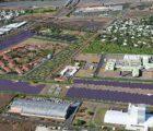 Le site de Bardzour sur l'Île de la Réunion comprend une centrale photovoltaïque de 9 MWc réalisée par Akuo Energy avec 9MWh de stockage sur batteries Li-Ion de Saft.