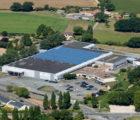 Site de production de La Jubaudière, près d'Angers