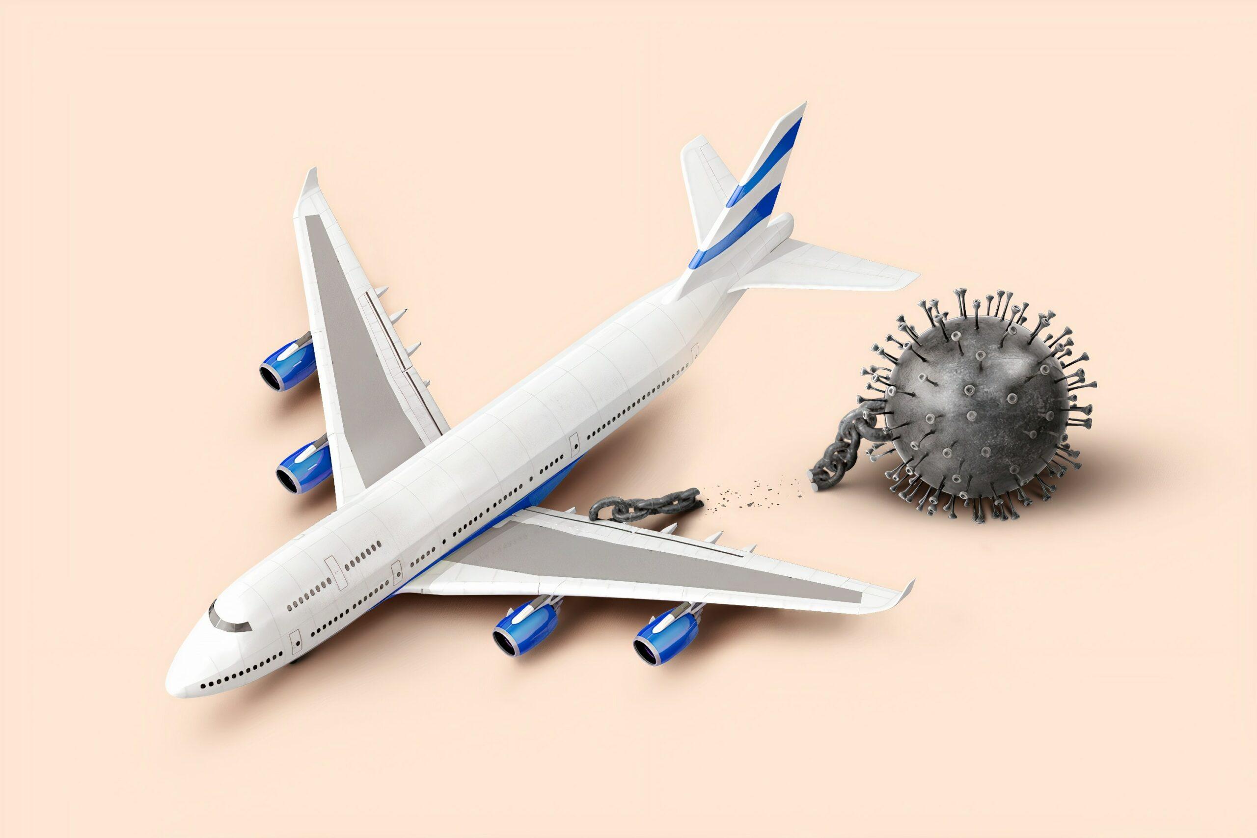Covid 19 Les Risques De Contamination En Avion Plus Faibles Que Prevu