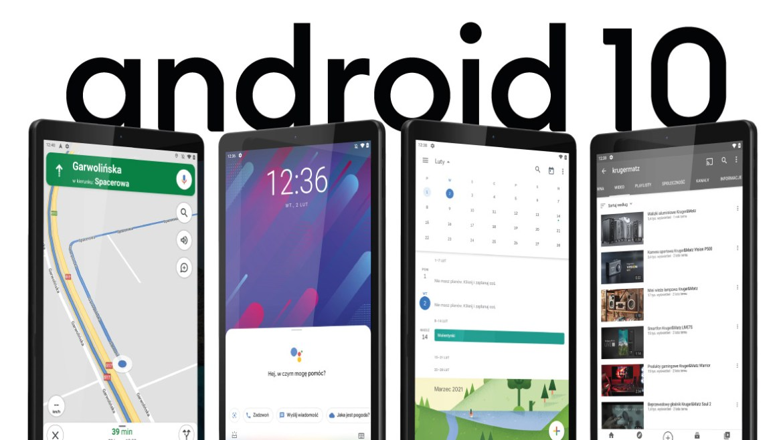 Tableta cu Android 10