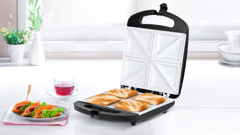 Sandwich maker pentru 4 sanwich-uri TSA3229B TSA3229B