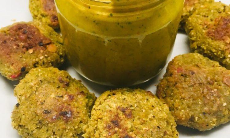 Parippu Vadai - Dhal Falafel mit Chilis aus Sri Lanka