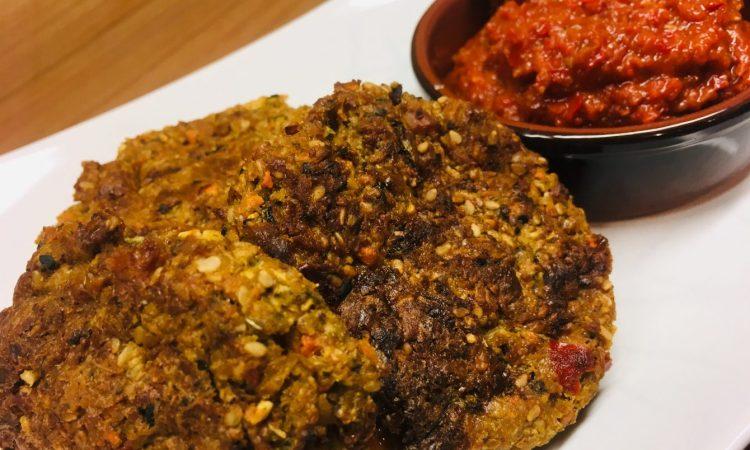 Kohlrabi Karotten Zucchini Puffer