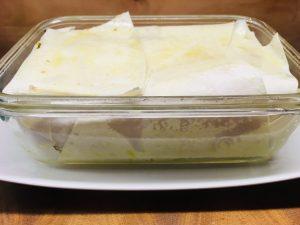 Kürbis Pastete mit Cranberries, Walnüssen und knusprigem Salbei