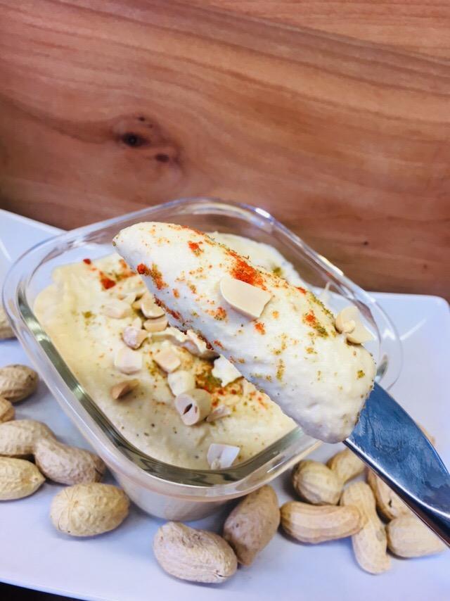Erdnuss Butter Hummus