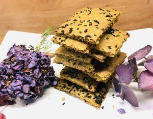 Tahini Kichererbsen Cracker