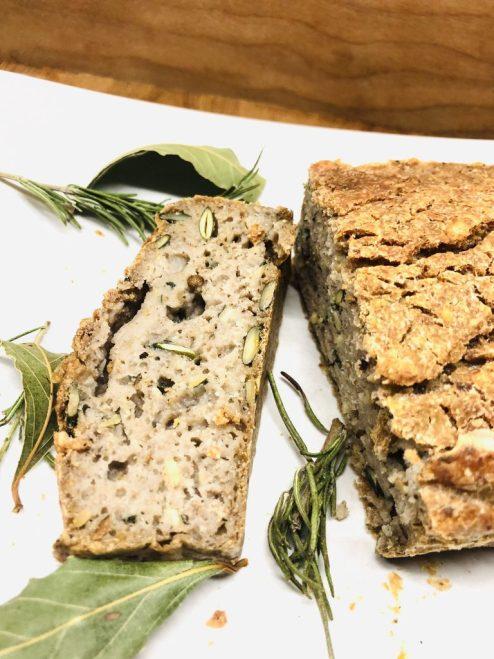Brot aus fermentiertem Buchweizen