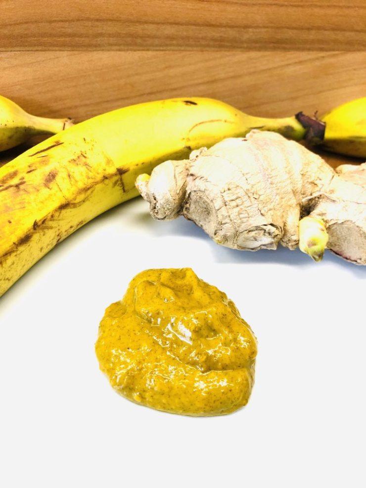 Bananen Curry Dip mit Ingwer und Orange
