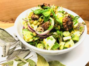 Mungo Bohnen Mango Salat