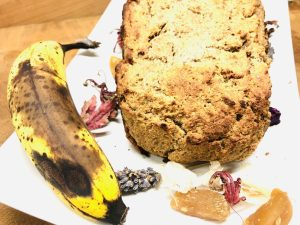 Bananen Ingwer Brot