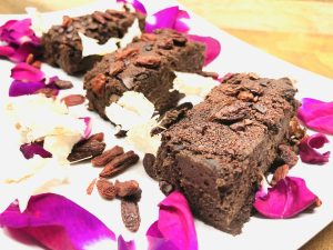 Adzuki Bohnen Fudge Brownies