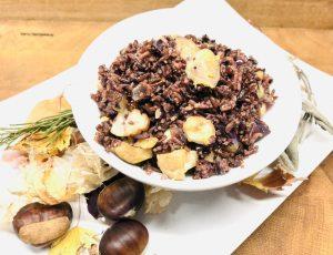 Maronen Reis mit Safran