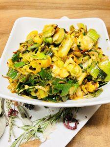 Chili Lauch Gemüse nach Sri Lanka Art