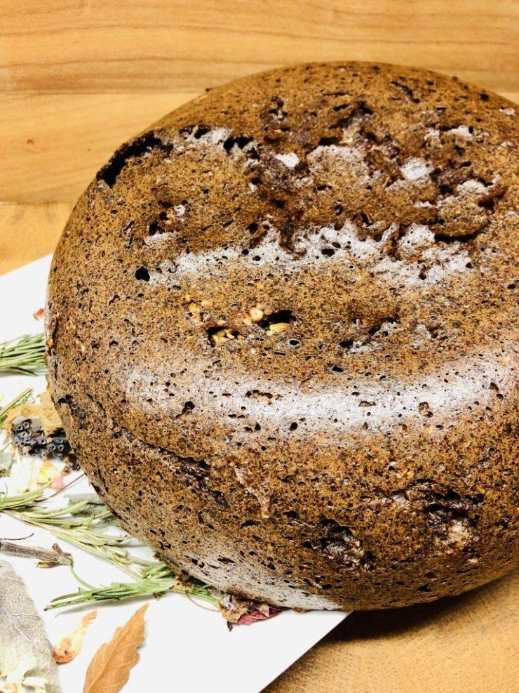 Quinoa Brot mit Zucchini