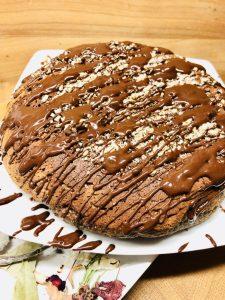 Haselnuss Kastanien Kuchen a la Creme de Marron