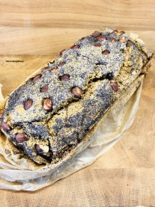 Nuss Mohn Brot aus Buchweizen