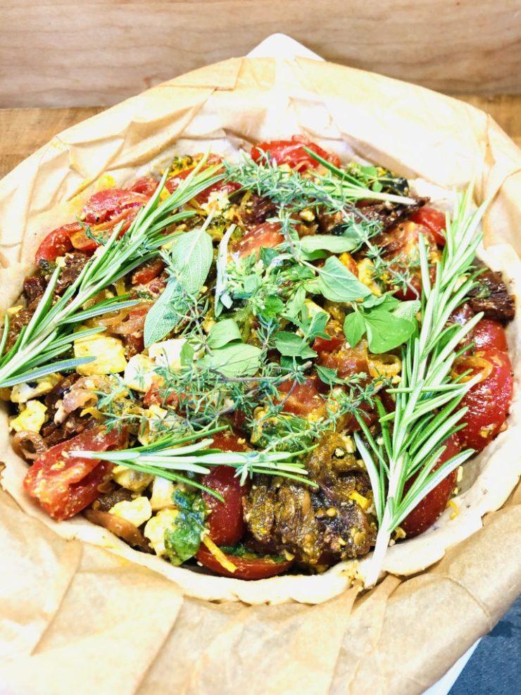 Korsischer Tomaten Quiche