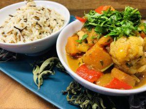 Blumenkohl Kürbis Curry