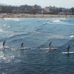 Entrenamiento paddle surf