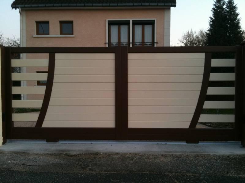 portail douai alu pvc bois