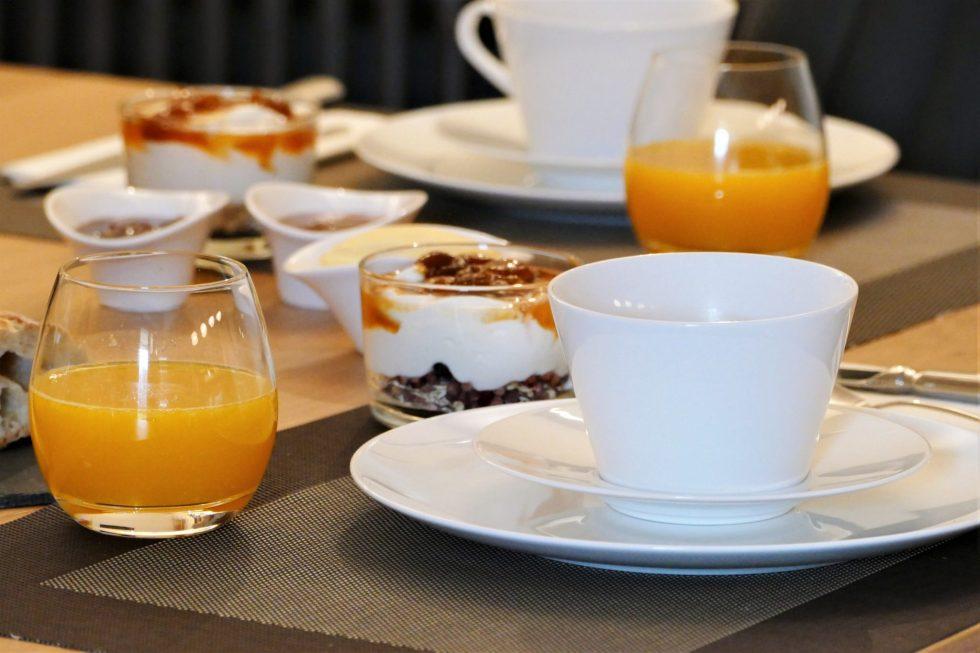 Petit déjeuner - Le Clos des Queyries