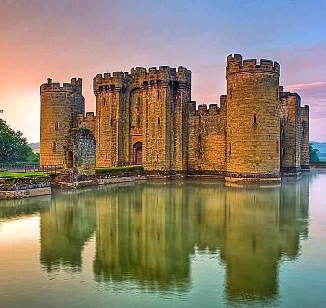 Inghilterra, il Castello di Bodiam