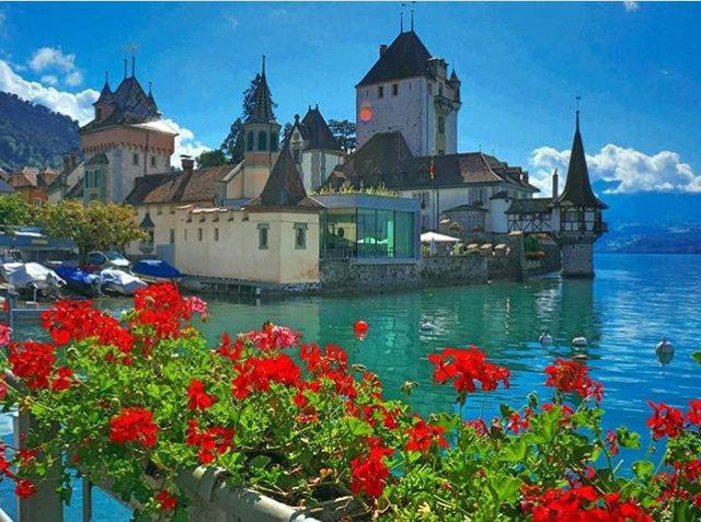 Svizzera, il Castello di Oberhofen