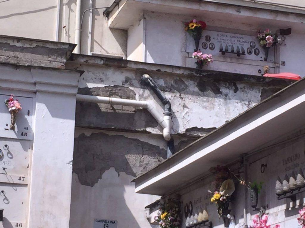 Degrado cimitero